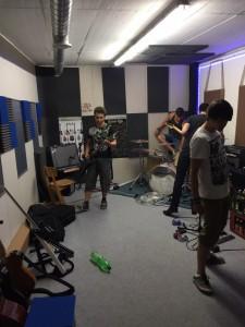 Bandproben 2015 / August