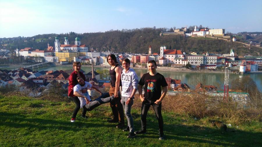 The Final Impact bei Mariahilf in Passau mit Aussicht zur Stadt