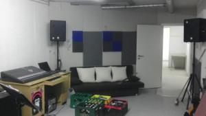 Bilder zur Bandraum-Baustelle