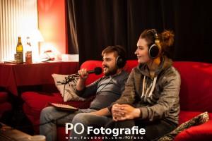 Priate Radio Bayern beim Interview mit The Final Impact